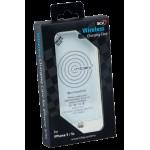 Беспроводная зарядка, индуктивная по стандарту Qi – чехол Inbay для iPhone 5/5S, white